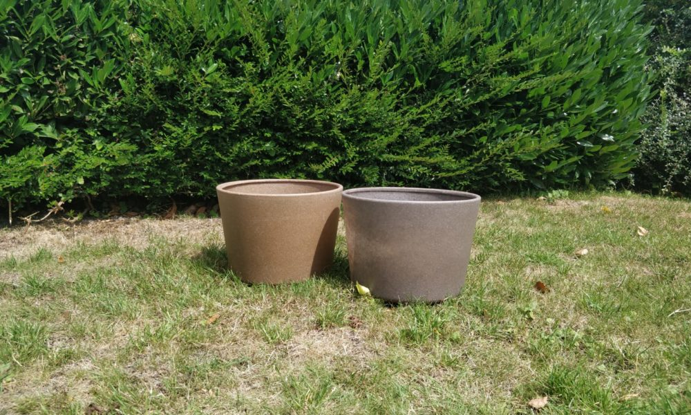 Plantenbakken natuurvezels