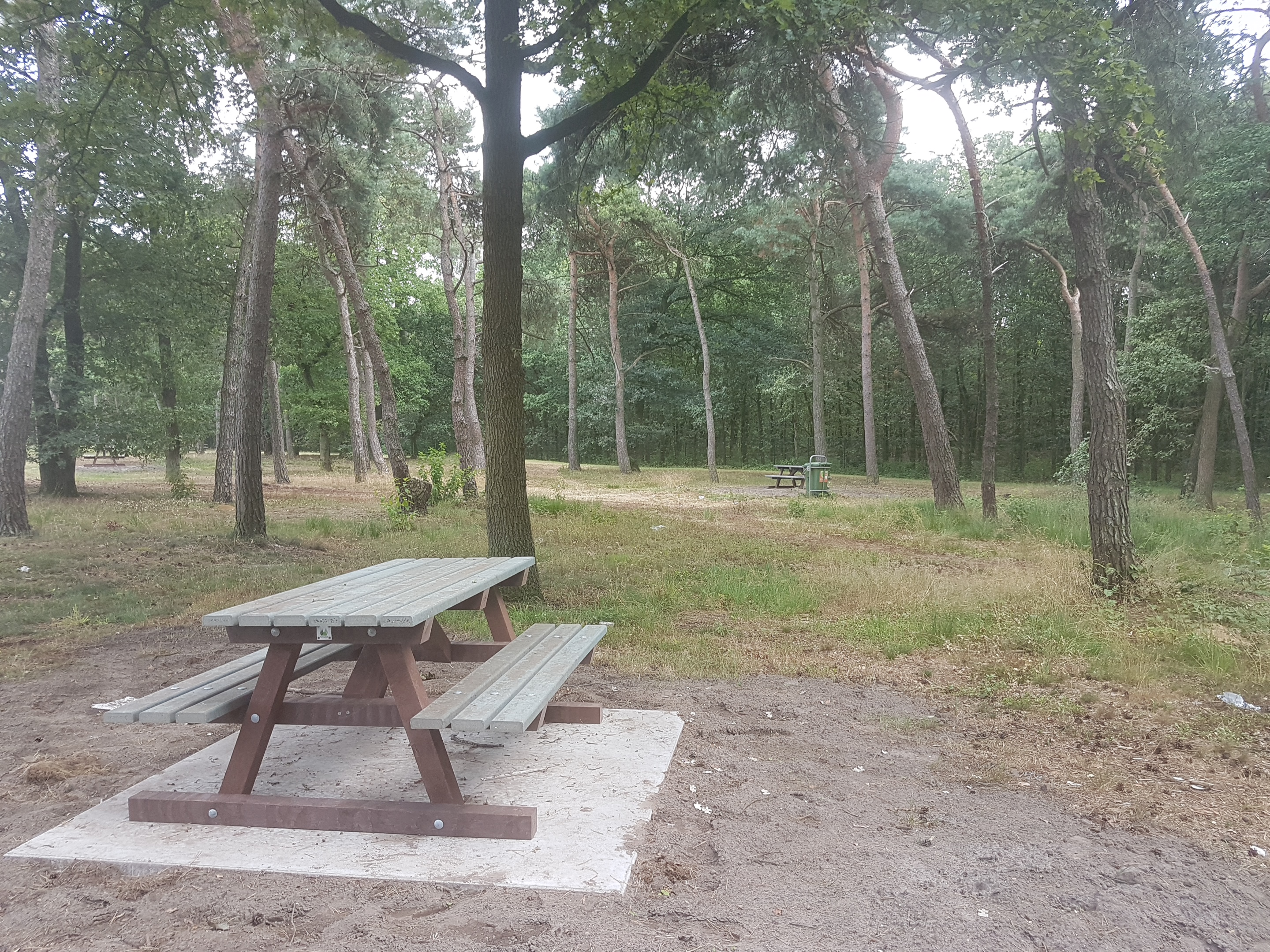 Biobased Picknicktafel