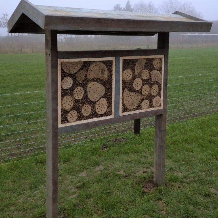 Biobased bijenhotel